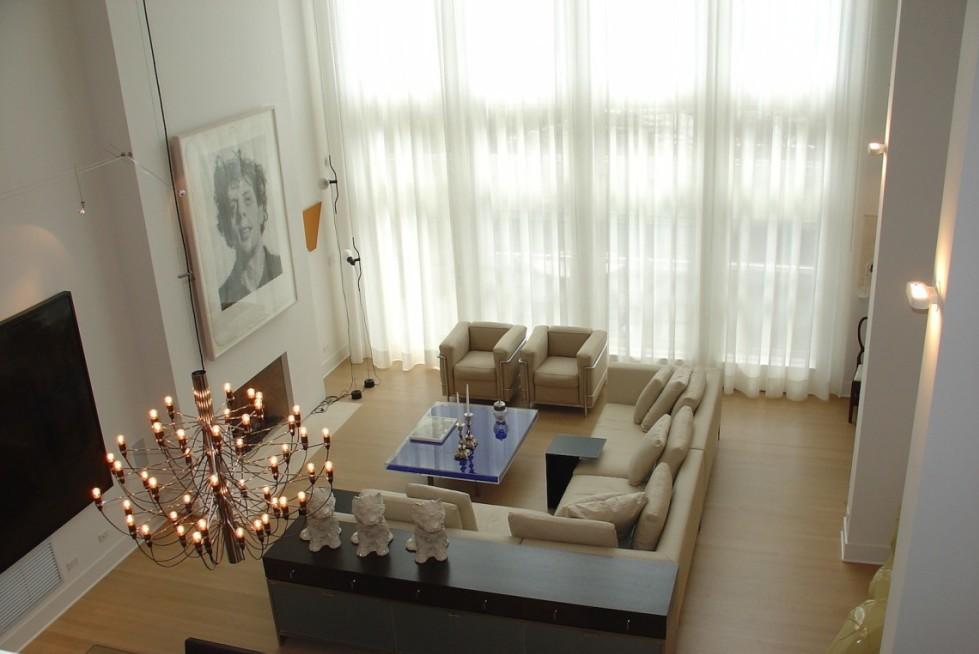 Townhouse interior design chicago art collectors cme interiors