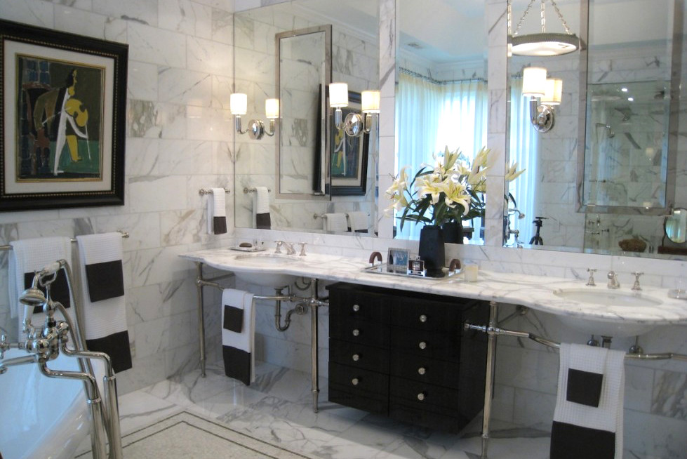 Bathroom & Powder Room Interior Design Portfolio | CME Interiors