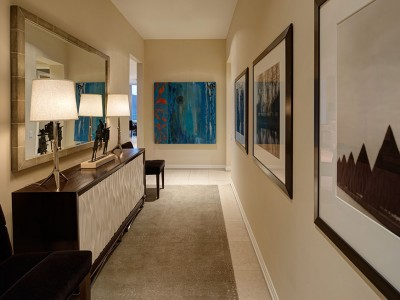 contemporary foyer interior design | CME Interiors