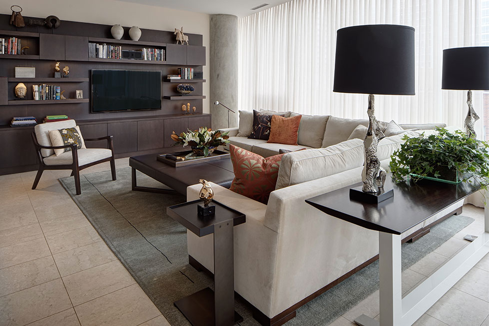 Living room interior design portfolio cme interiors